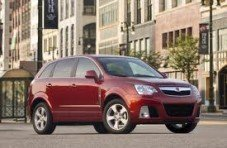 2008 SATURN VUE RED