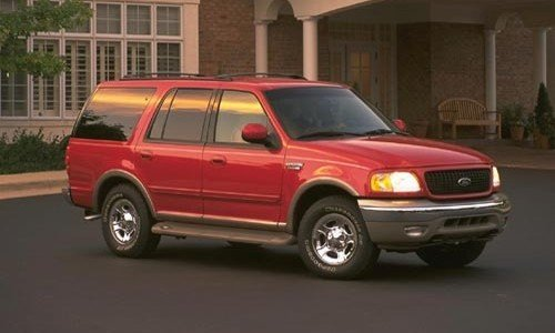 2001 FORD EXPEDI RED
